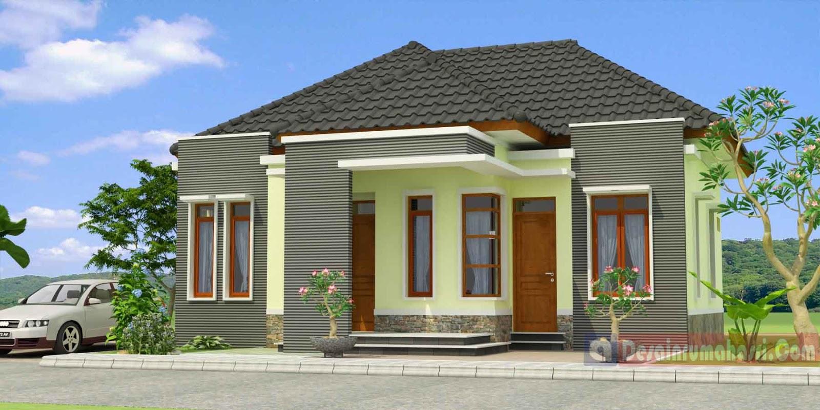 Desain Rumah Sederhana  Modern Rumah  Design