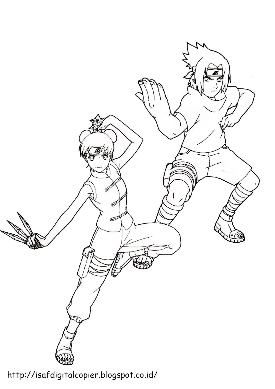 Buat Yang suka dengan Anime naruto cikidoot di donwlod mewarnai naruto