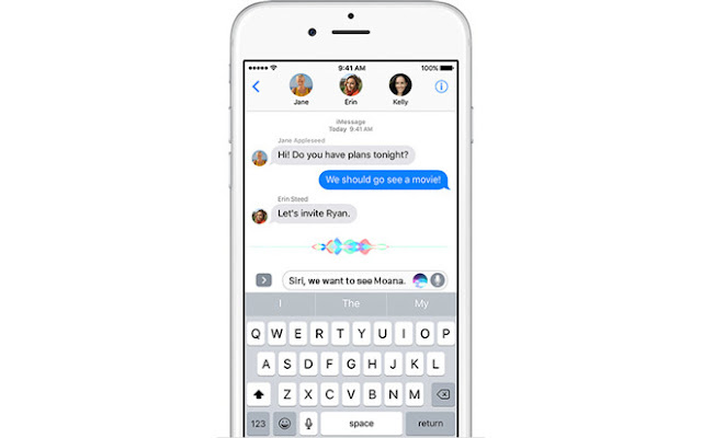 iPhone Siri iMessage Entegre