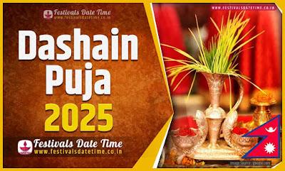 2025 Dashain Date Time, 2025 Dashain Nepali Calendar