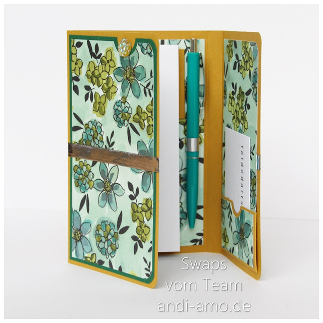 Stampin Up Team-Swaps andi-amo Mini-Album