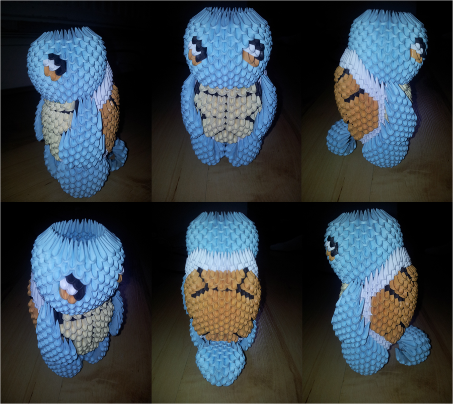 Origami Squirtle 19