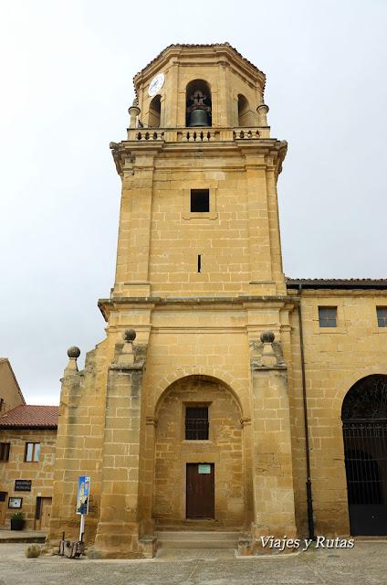 Iglesia parroquial de Santa María de la Asunción, Sajazarra