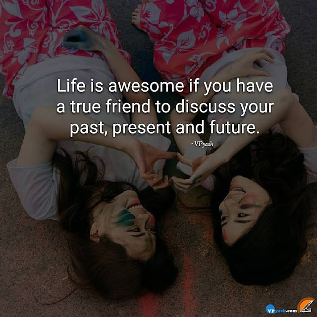 A True Friend Be Always With You