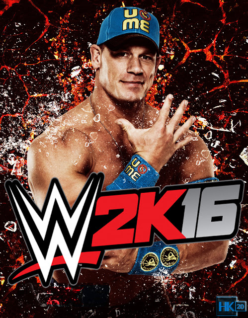 WWE 2K16 PC John Cena Cover