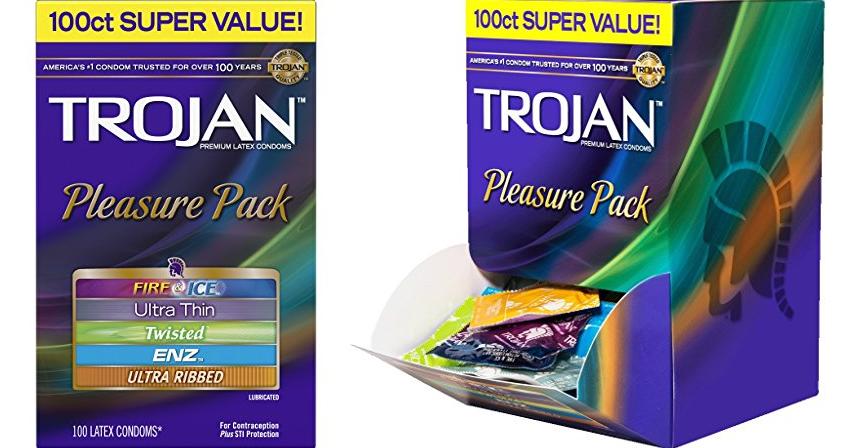 100 Trojan Lubricated Condoms $16.65 (Reg $44) + Free ...