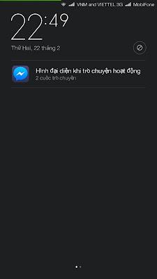 Lỗi Xiaomi Redmi Note 3 khi tải Messenger Facebook