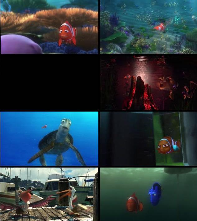 Finding Nemo 2003 Dual Audio Hindi 480p BRRip