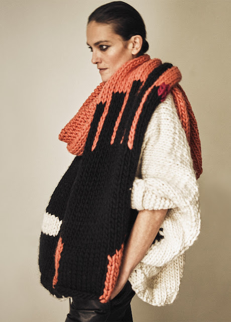 Touch scarf de Laura Ponte para We are knitters