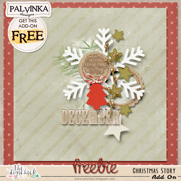 December Hatchery - Christmas Story Collection and Add On Freebie