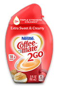 Save 50 Cents on Coffee-Mate2Go Creamer