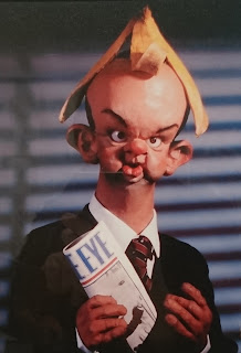 Ian Hislop, some-time writer for Spitting Image