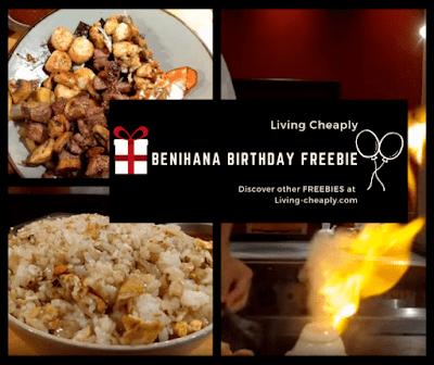 Benihana FREE Birthday Food