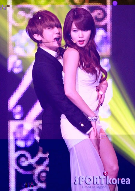 Hyuna look her best in (Troublemaker era)