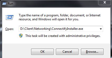 menjalankan installer connectify