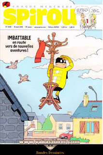 Chaque mercredi, Spirou, Imbatable, numéro 4066, année 2016
