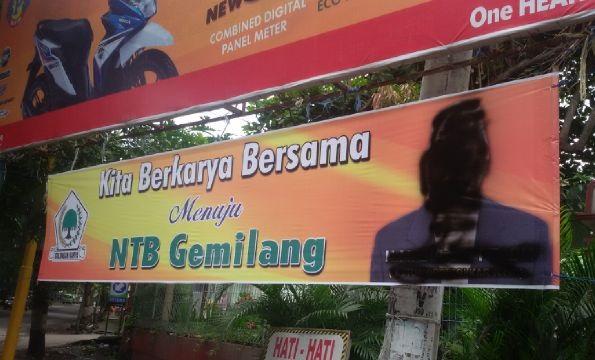 Pengerusakan Baliho Kandidat Gubenur Bukan Kewenangan Pol PP
