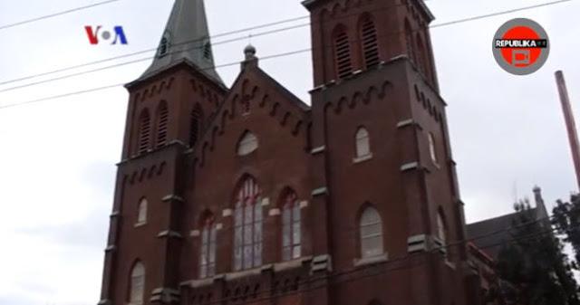 Gereja di New York Amerika Ini Dijual dan Sekarang Menjadi Masjid