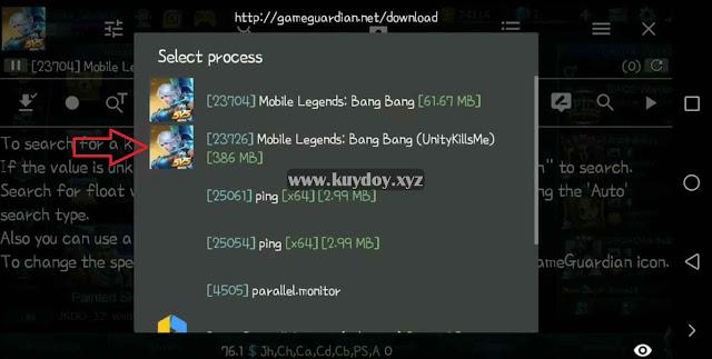 Script Skin Guinevere KOF Athena Asamiya Mobile Legends