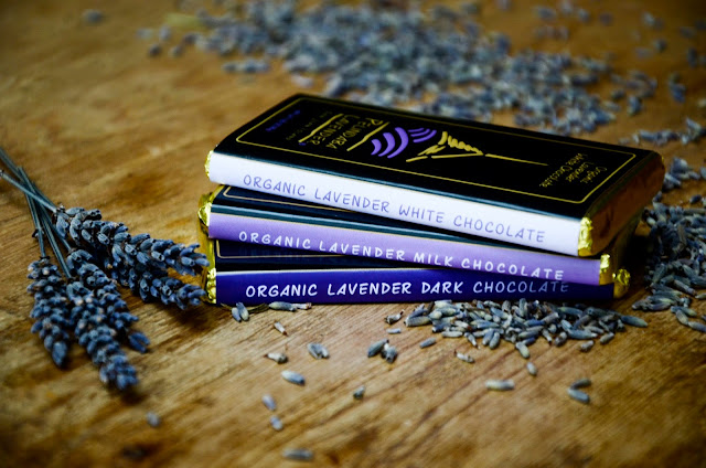 Organic Lavender Gourmet Chocolates handcrafted by Pelindaba Lavender Farm