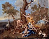 Valencia a pedacitos: Mitología Griega 4, Botticelli y Poussin