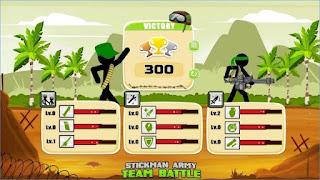 Game Stickman Army : Team Battle Apk