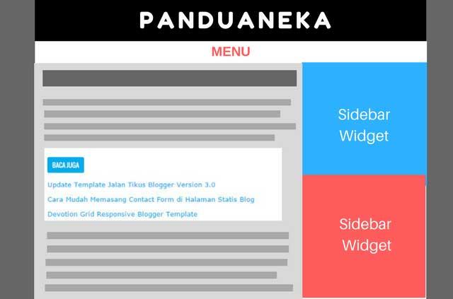 Cara Membuat Artikel Terkait/Related Post di Dalam Postingan