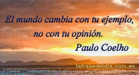 Pensamientos para el día a día, Paulo Coelho