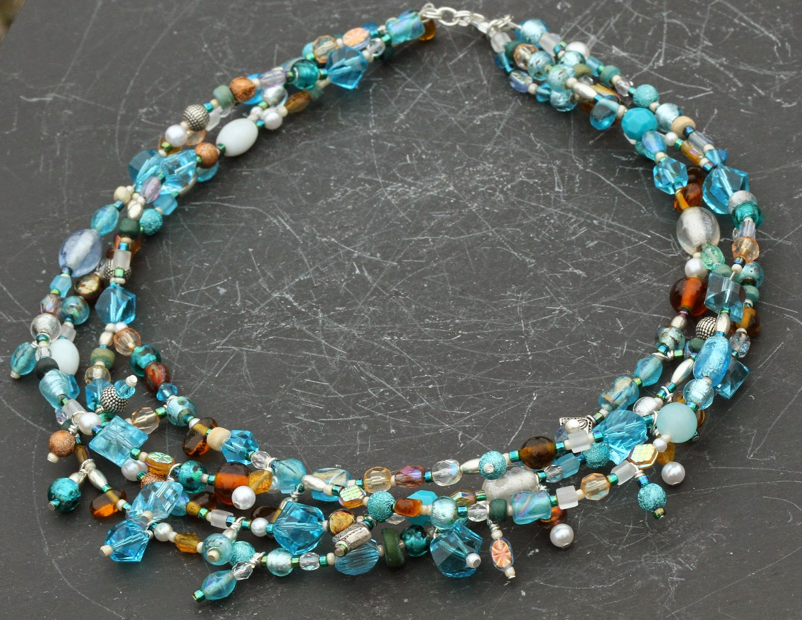 Angela Smith Jewellery: 'sea breeze' A necklace inspired ...