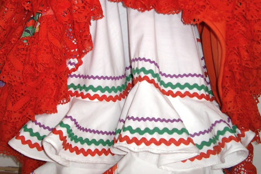 Enaguas de flamenca