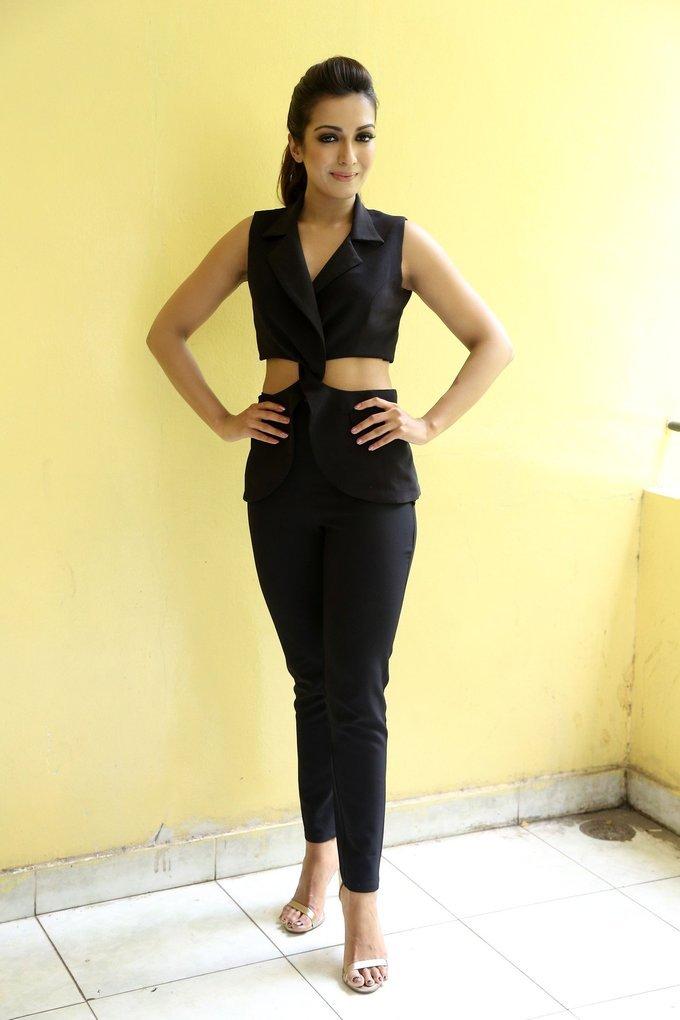 Catherine Tresa Stills At Gautham Nanda Movie Interview