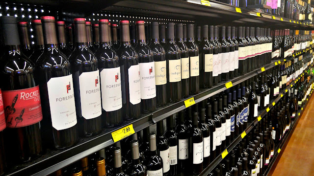 Grocery Outlet Bargain Market wine sale