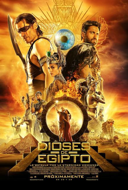 Dioses de egipto - Latino - 1080p - Portada