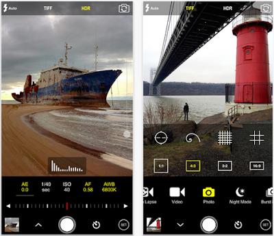 Aplikasi Kamera iPhone Terbaik - ProCam 3