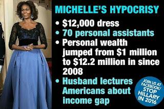 Michelle's Hypocrisy