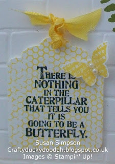 Stampin' Up! Susan Simpson Independent Stampin' Up! Demonstrator, Craftyduckydoodah!, Butterfly Basics, Brick Wall TIEF,