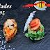 Arroz relleno de mariscos, coco, menta y hierbas de la Sierra Ingredientes