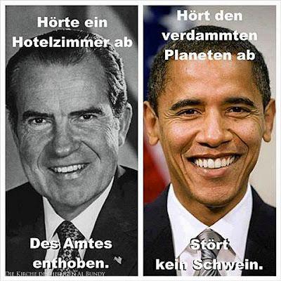 Lustiges Vergleichsbild Straffreiheit bei Politikern