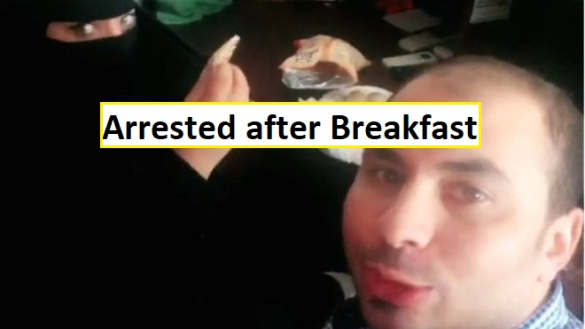 Egyptian arrested after breakfast with Saudi lady Man Arrested after breakfast with Saudi Women