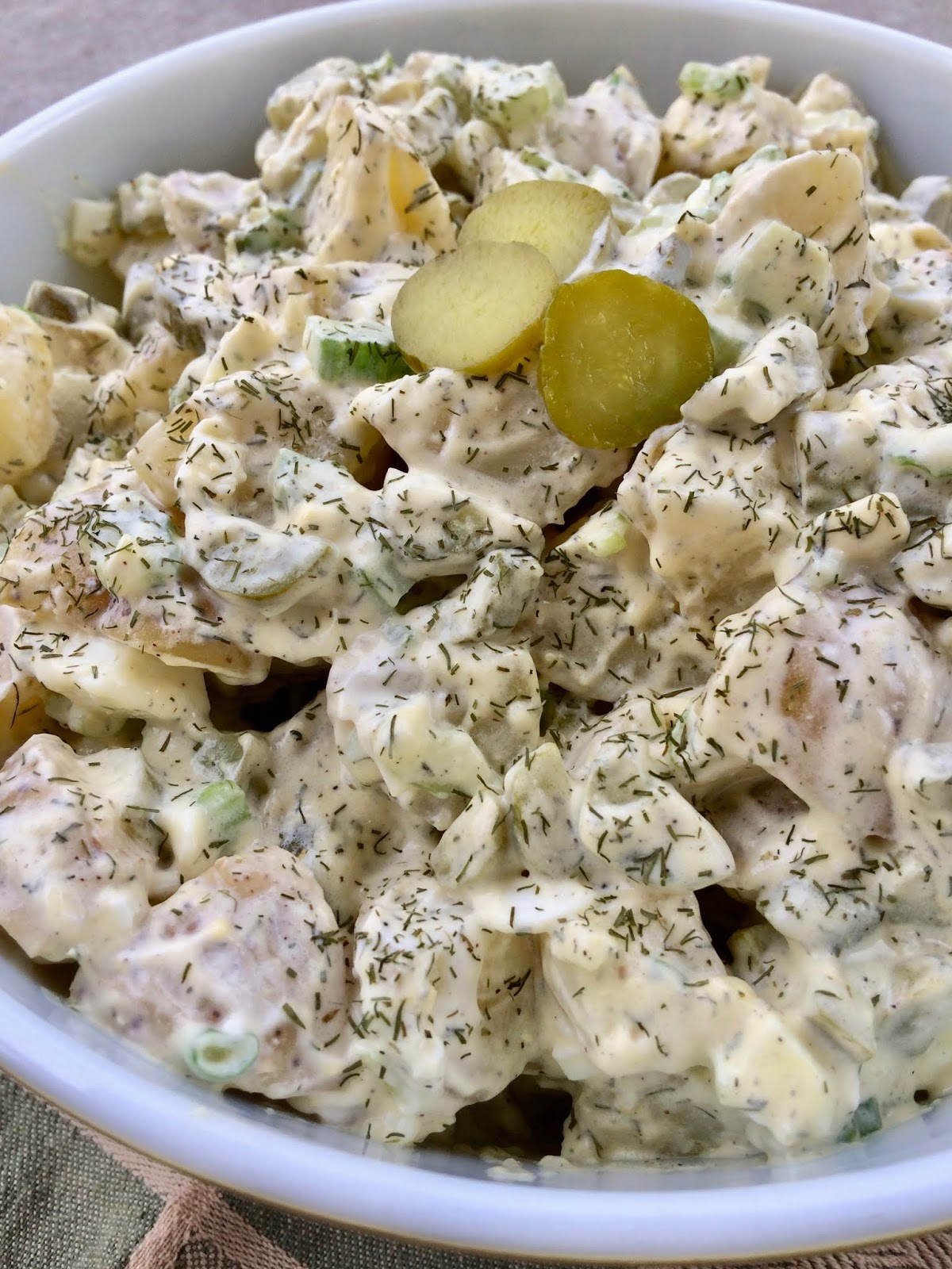 Potato Salad Recipe With Dill Pickle Juice