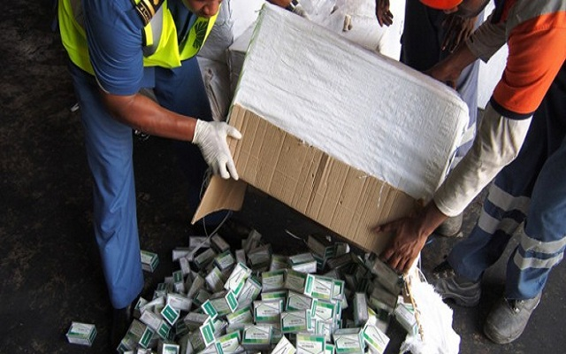 Nigerian Customs Intercepts Containers Load Of Tramadol