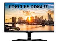 Castiga un monitor LG 24MP68