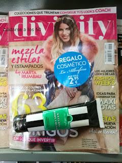 Revista divinity con regalo de La albufera
