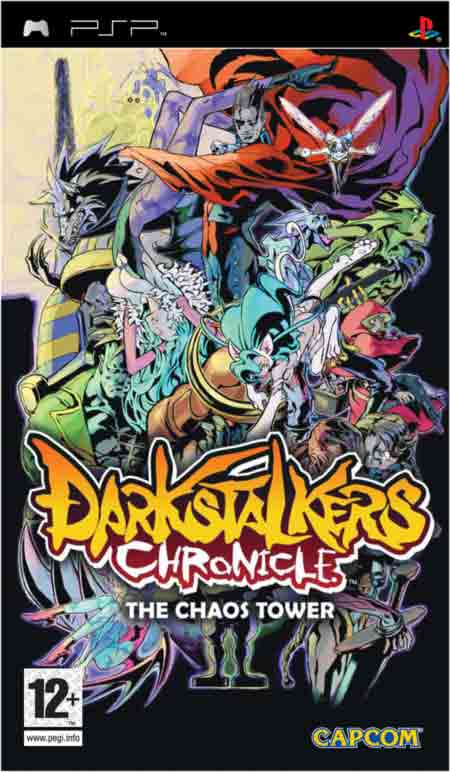 Darkstalkers Chronicle: The Chaos Tower - PspFilez - Free ...