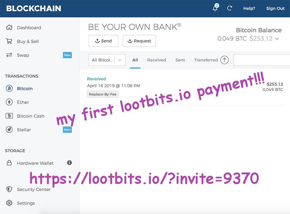 lootbits io – Payment Proof Club