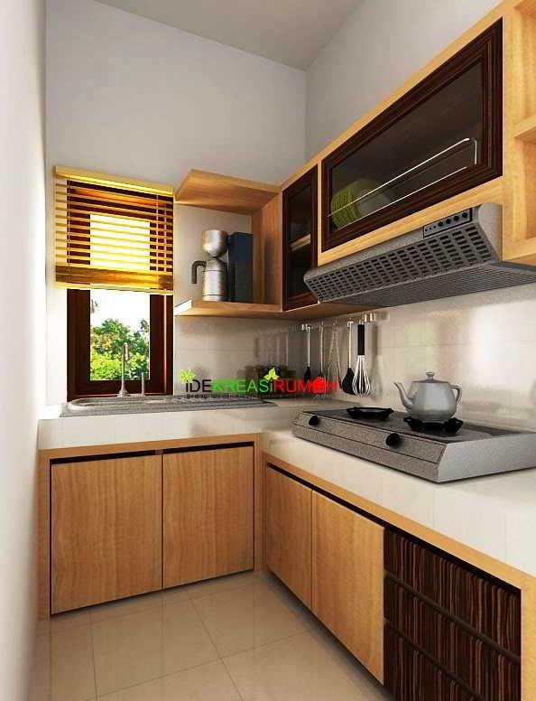 Model Desain Dapur L