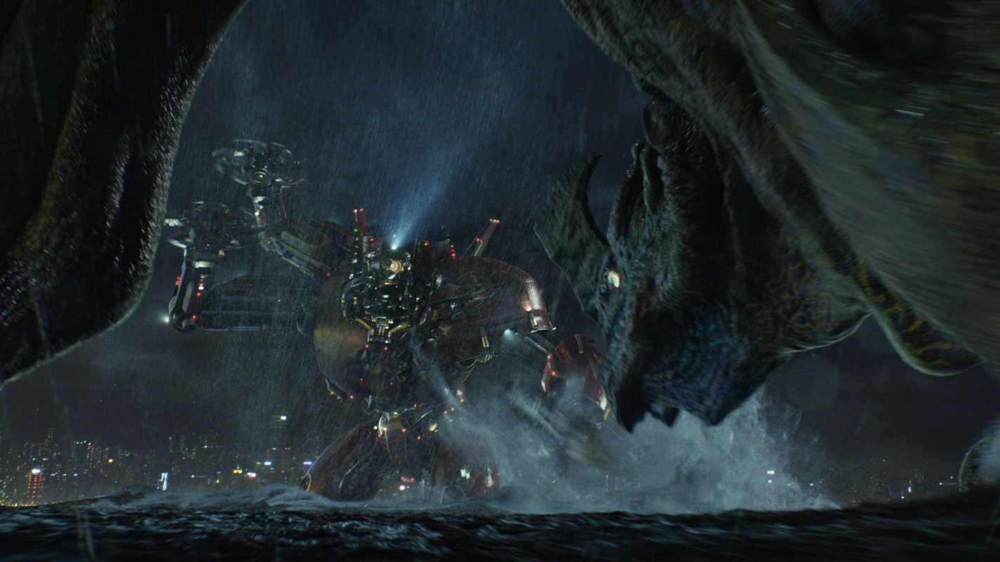 Ben Dares All: Movie Review - Pacific Rim Pacific Rim Crimson Typhoon Thundercloud Formation