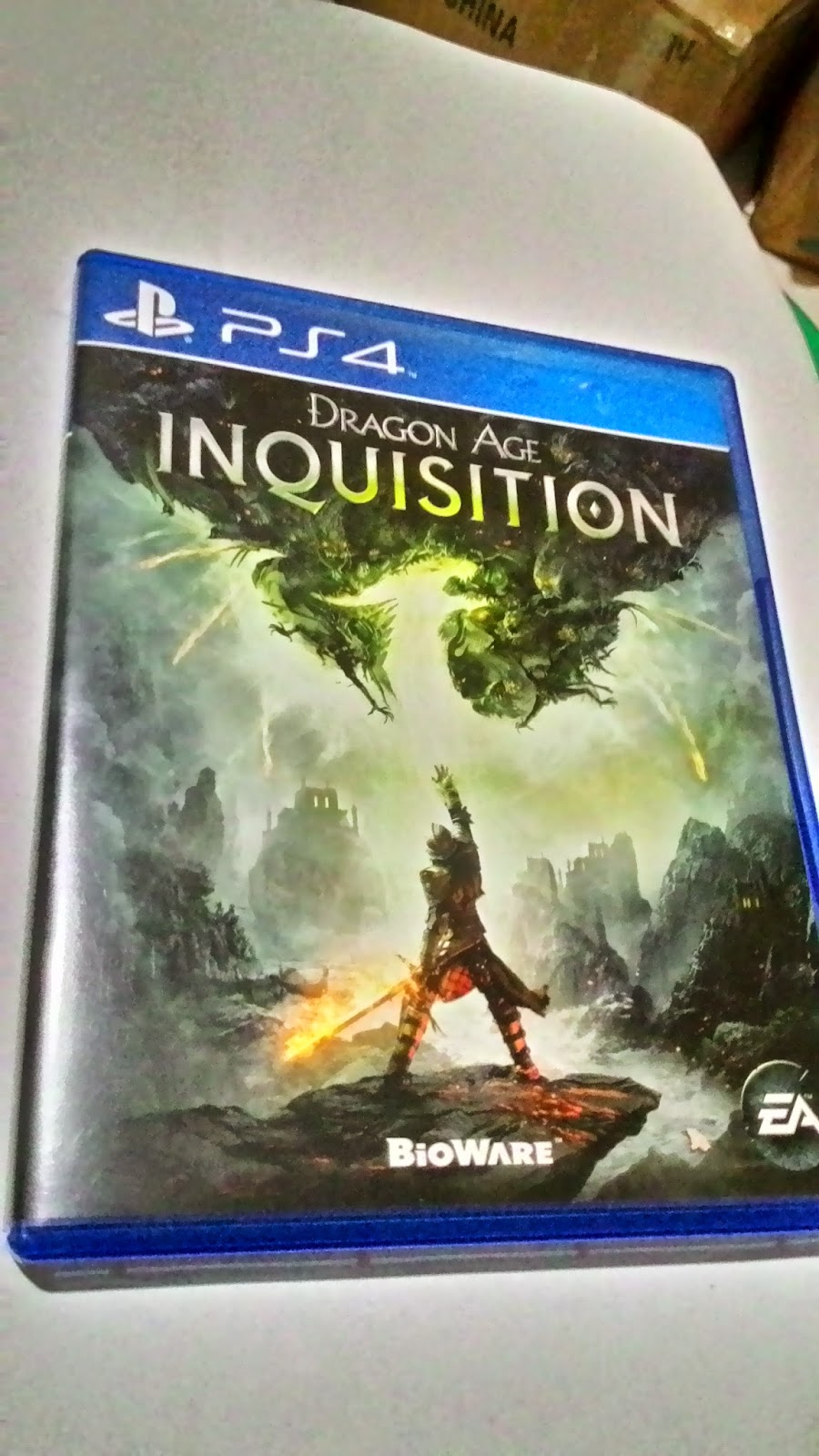 Rental Game Ps4 Ps 4 Kaset Bd Infamous Second Son Dragon Age Inquisition