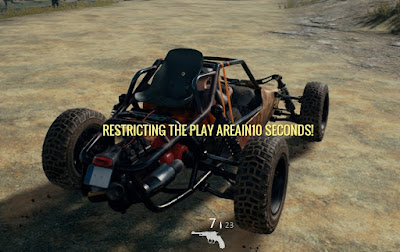 Багги Playerunknown's Battlegrounds