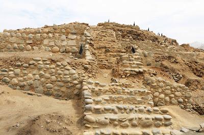 Huaca de los sacrificios, Aspero ciudad pesquera Caral